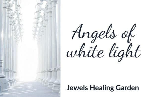 Angels of white light