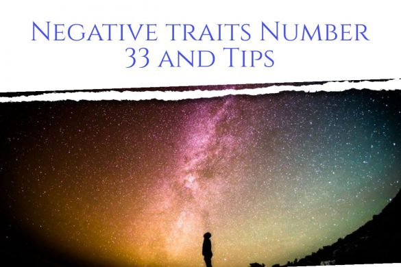 negative traits of number 33