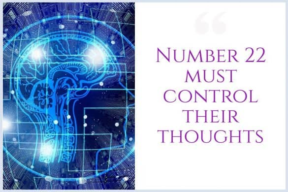 Number 22 must control their thoughts