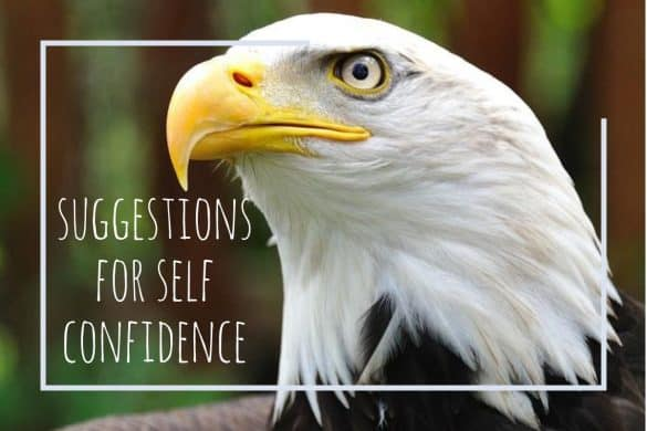 suggestions for self confidence
